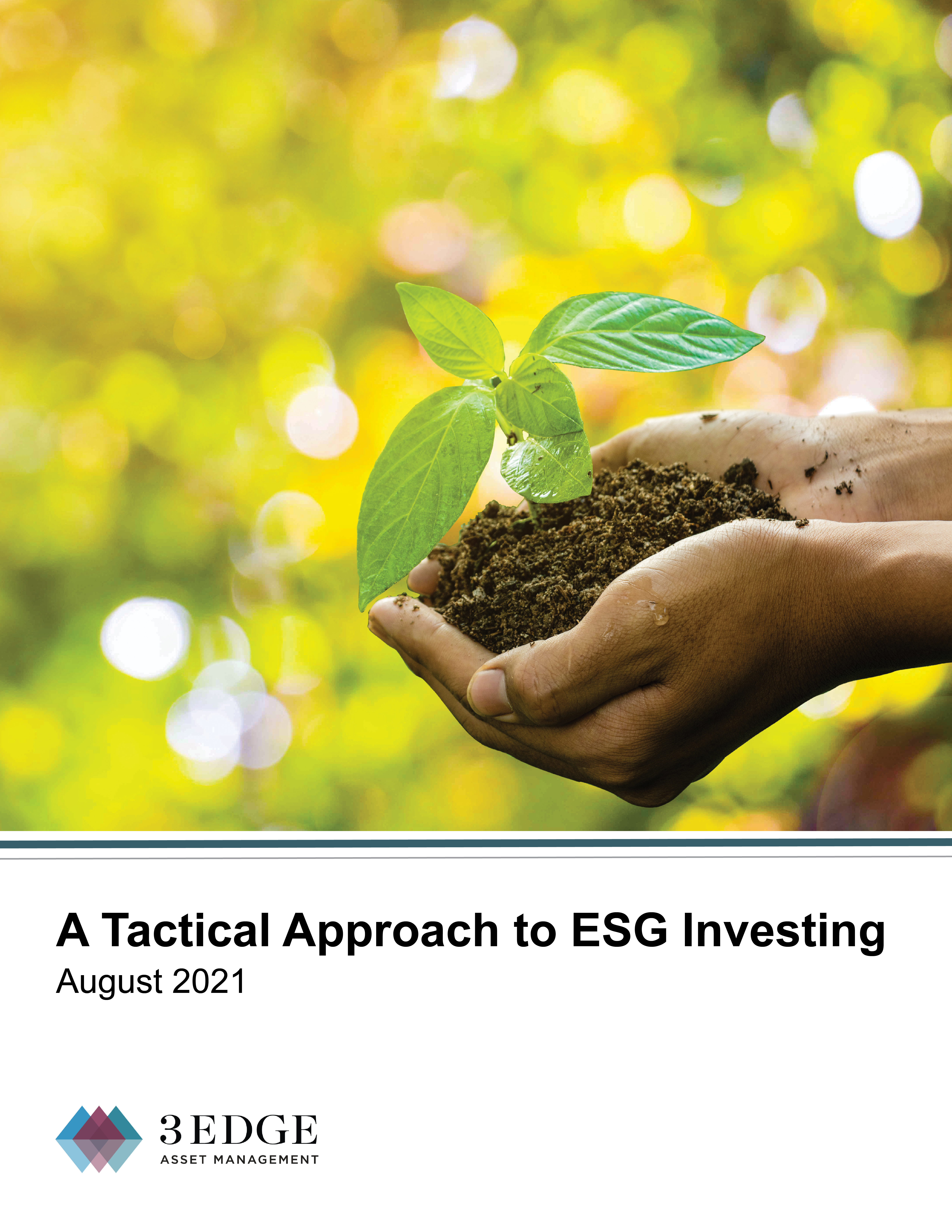 A Tactical Approach to ESG Investing